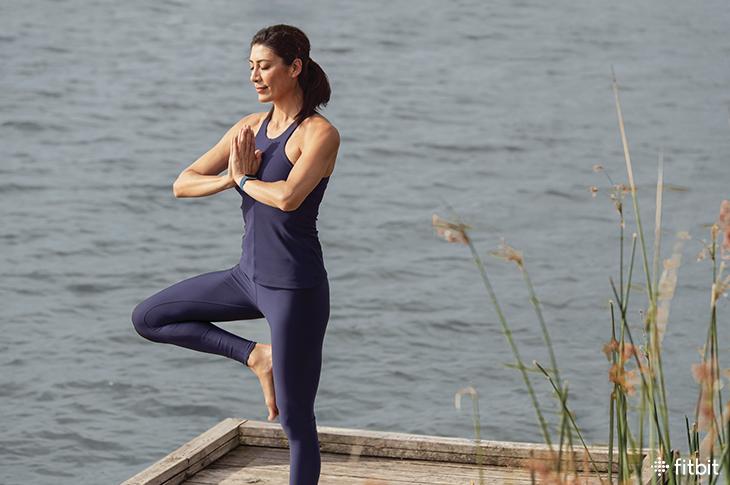 Con Fitbit medir y controlar el estrés con indicadores físicos