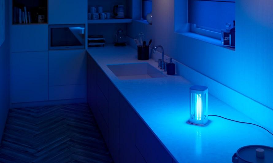 Desinfecta espacios, sólo usando luz UV