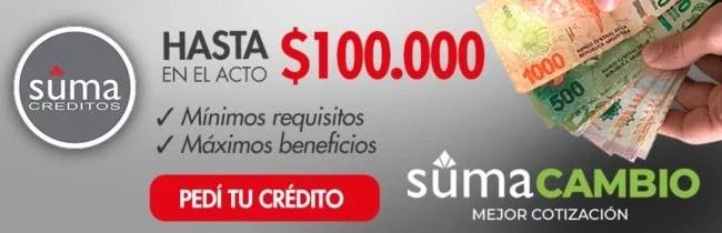suma creditos