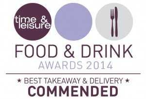 Aya Food Awards Winner Best Takeaway Service 2014