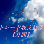 トレード収支結果【月間】 2016/06