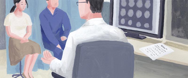 病院 診断 医師 男性 女性