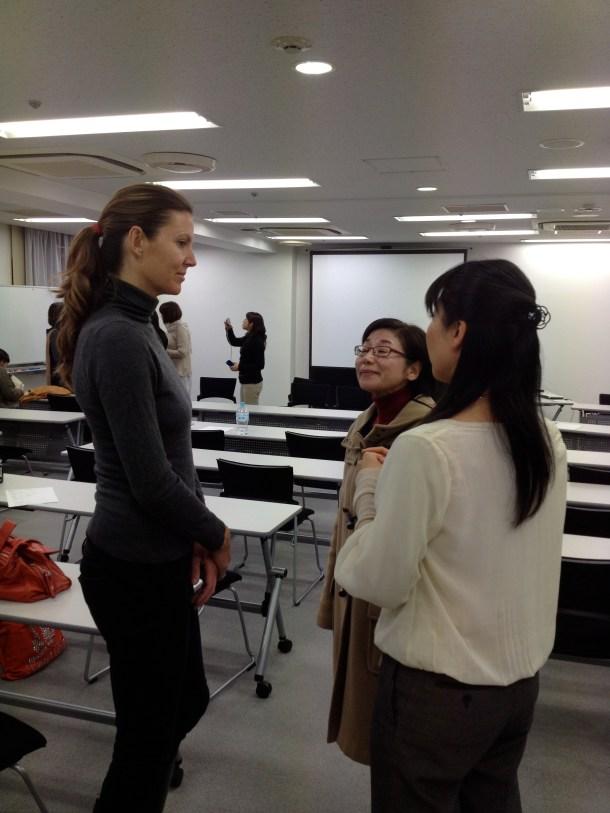 ら・べるびぃの福地先生も受講いただきましたよ。明日のスピーカー同士の交流、触合いがもう始まっています^^