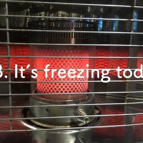 #3 Freezing!