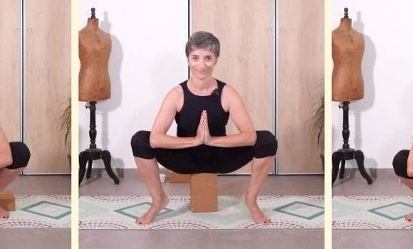 La posture de la guirlande