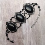 Ayame Designs handcrafted gothic bracelet
