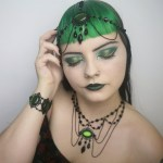 Ayame Designs handcrafted gothic jewellery set