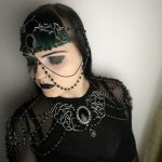 Ayame Designs handcrafted pagan jewellery set