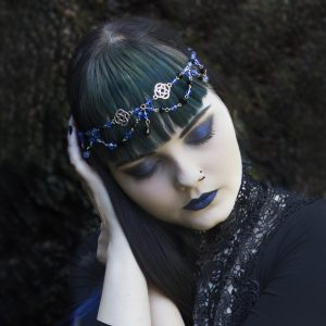 Ayame Designs handcrafted Celtic circlet / head chain
