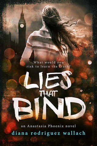 Review: Lies That Bind by Diana Rodriguez Wallach (Anastasia Phoenix #2)