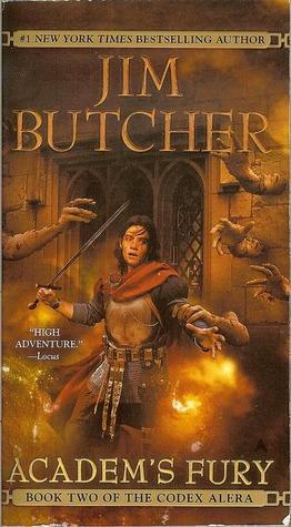 Review: Academ's Fury by Jim Butcher (Codex Alera #2)