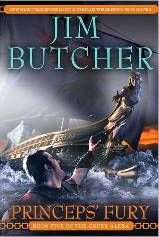 Review: Princeps' Fury by Jim Butcher (Codex Alera #5)