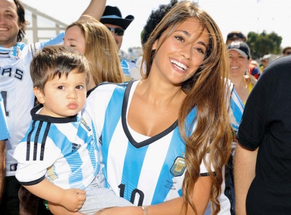 Antonella Ruccozzo, femme de Lionel Messi