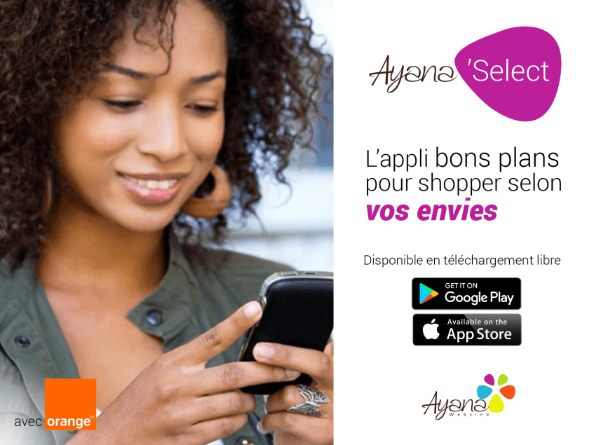 Ayana Select, l'appli shopping d'Ayana & Compagnie