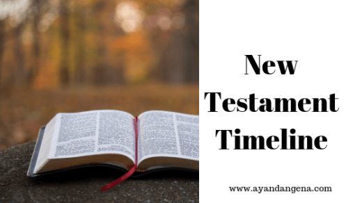 New Testament Timeline