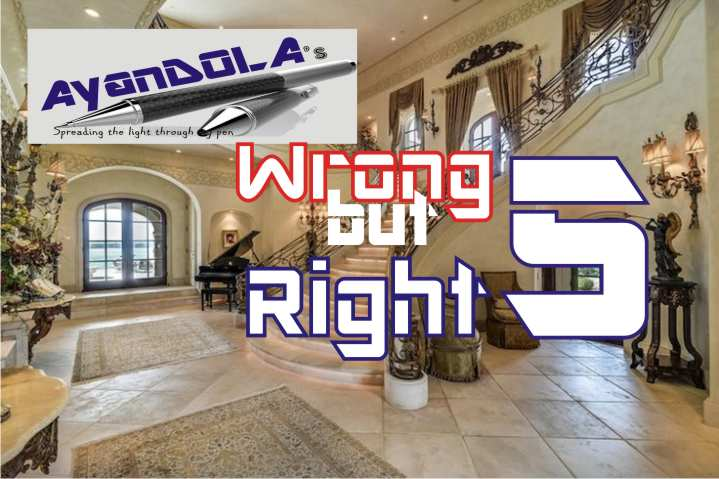 WRONG BUT RIGHT?: CHAPTER FIVE