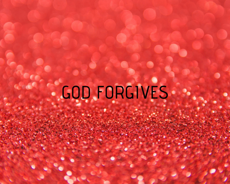 HOW FORGIVING GOD IS