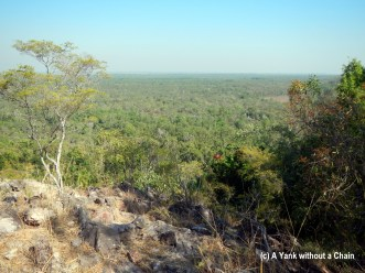 A view over Litchfield National Park from the Wangi Loop walking trail