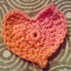 a yarny little heart
