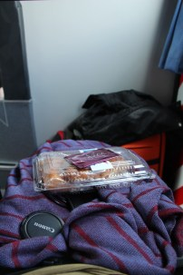 Snacks & Blanket at the Nice bus