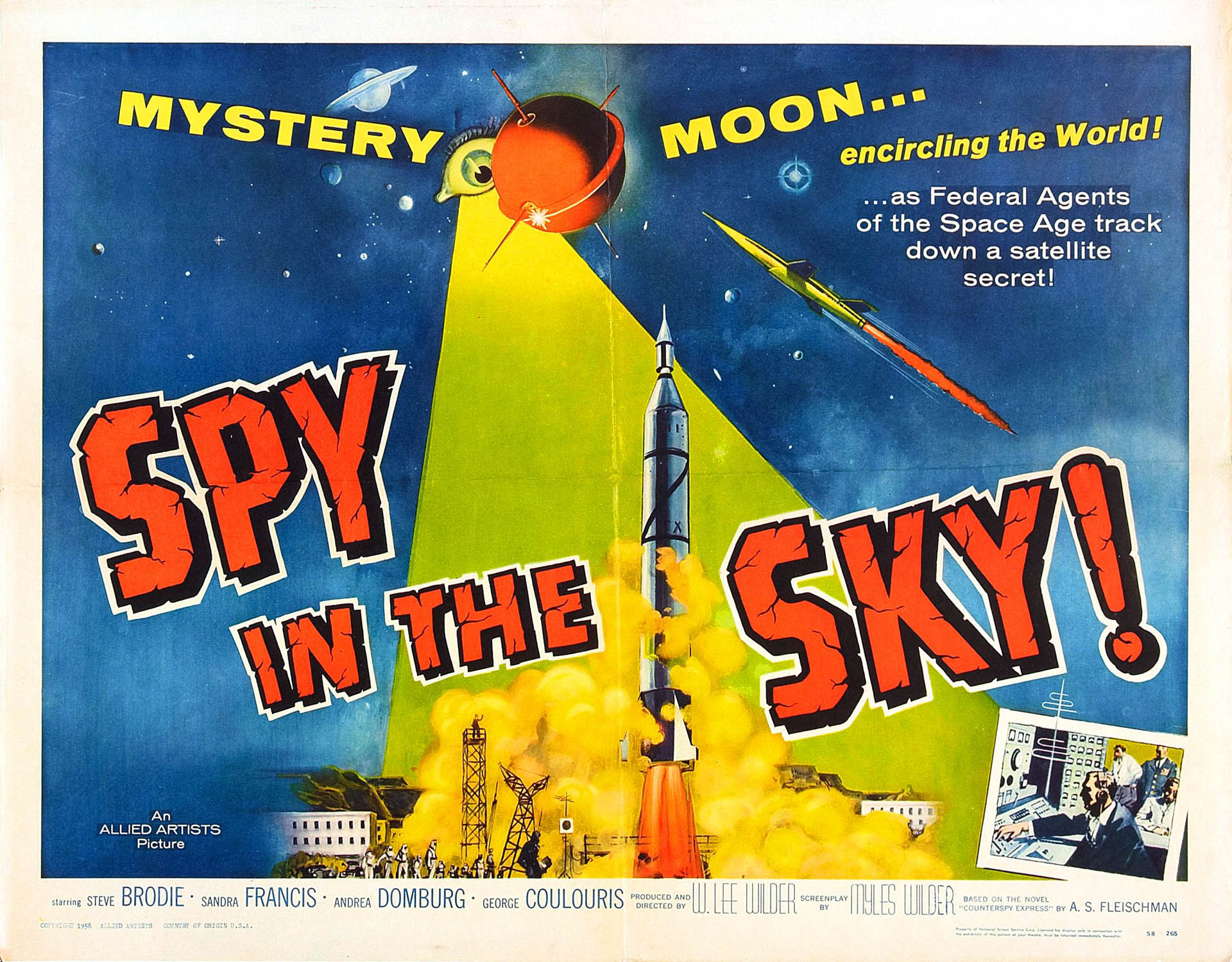 Spy Spy In The Sky