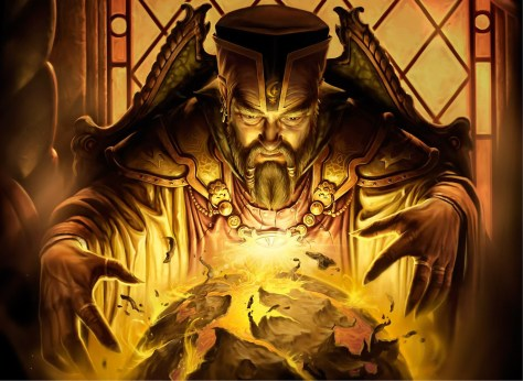 Image result for wizard casting a spell
