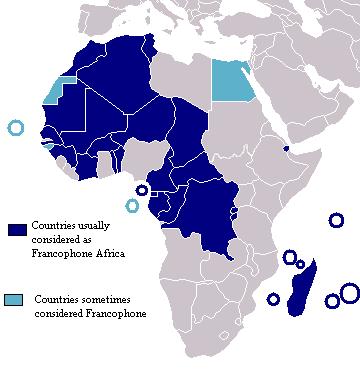 アフリカ フランコフォニ―