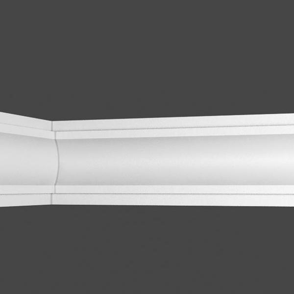 50 m Zierleisten Styroporleisten Zierprofile Stuckprofile Stuck 22x22mm K 40