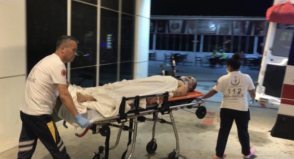 Kuşadası'nda motosiklet kazası: 1'i ağır 2 yaralı