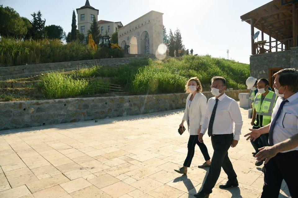 Vali Aksoy Adnan Menderes Müzesi çalışmalarını yerinde inceledi
