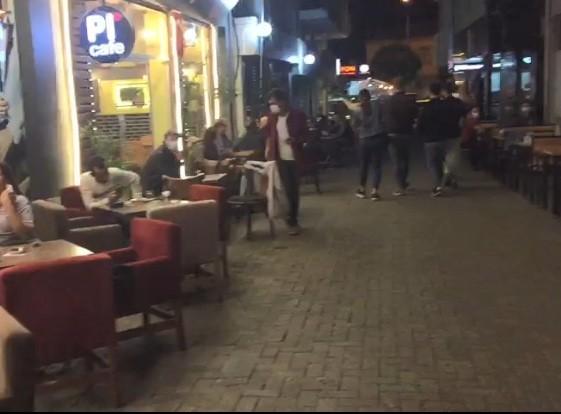 Polis Nazilli'de kafeleri denetledi