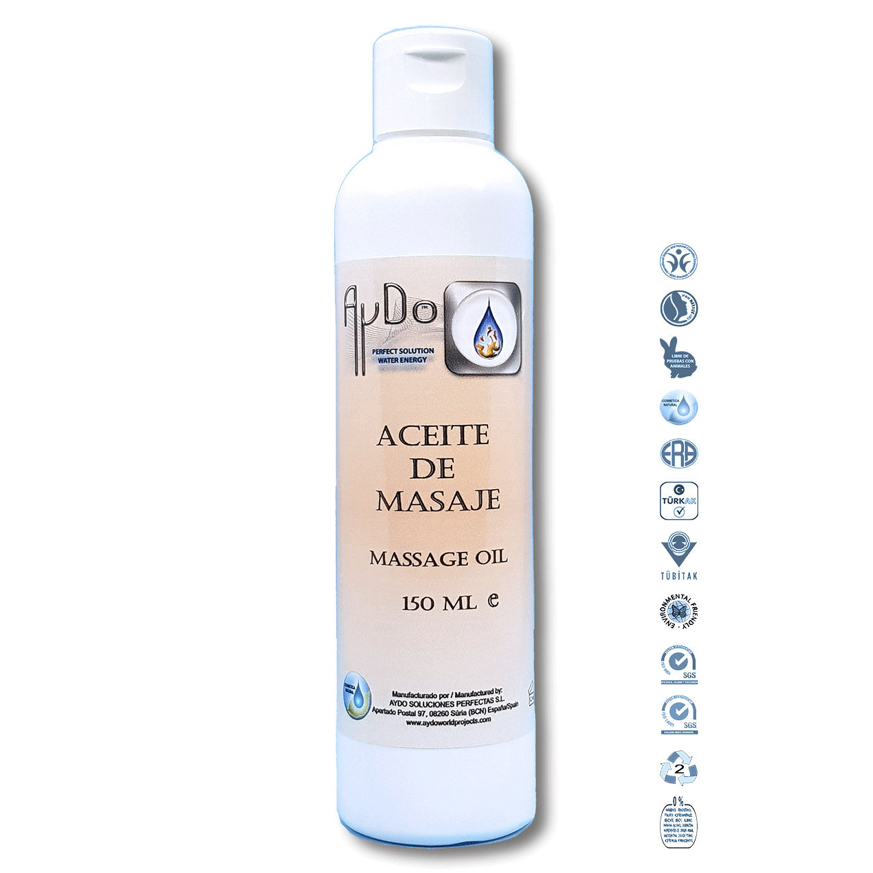 Aceite de Masaje Eco Bio 150mL