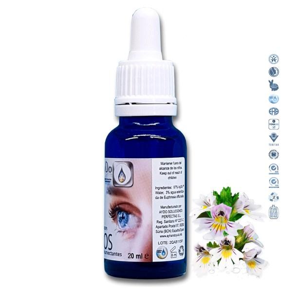 Colirio eufrasia natural eco bio gotas Ojos eufrasia ingredientes aydoagua