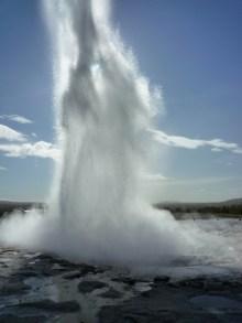 Strokkur geyser, Iceland