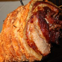 Traditional Irish Roast Pork with Crackling
