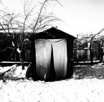 Backyard Entrance to Shelter, Salt Lake City, Utah