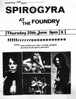 Spirogyra at The Foundry-A Year In The Country