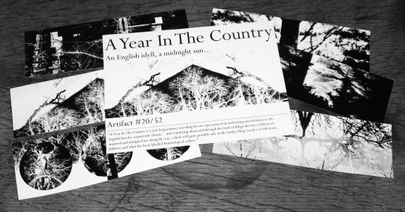 Artifact 20-stickers and insert-A Year In The Country