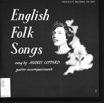English Folk Songs-Audrey Copard-Folkways Records-Scarborough Fair-A Year In The Country