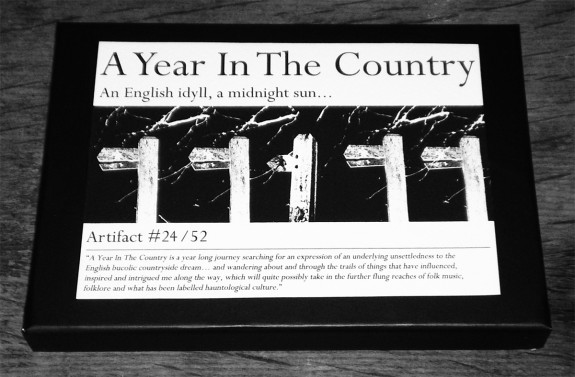 Artifact 24-closed box-A Year In The Country
