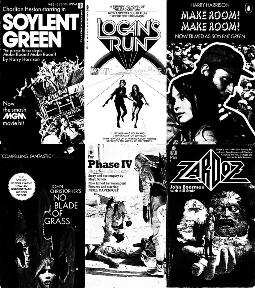 A curious mini genre-Soylent Green-Logans run-make room make room no blade of grass phase iv-zardoz-A Year In The Country