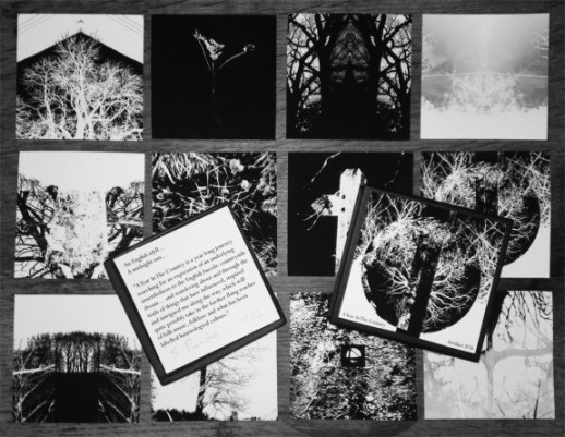 Artifact 28-A Pastoral Tinderbox-open box and prints-A Year In The Country