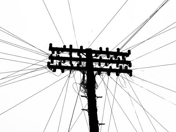 Telegraph Poles and Electric Pylons-A Year In The Country-5