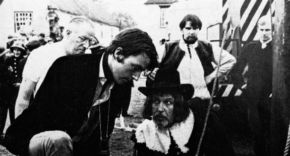 Vincent Price-Michael Reeves-Witchfinder General-on set-A Year In The Country