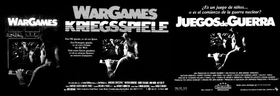 Wargames-film 1983-posters-A Year In The Country-3