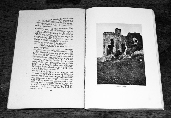 Castles and Strongholds of Pembrokeshire-book-Emily Hewlett Edwards-1