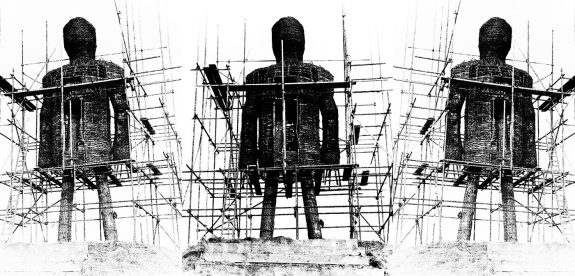 The Wicker Man-construction-production photograph
