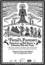 A Fiend In The Furrows-Folk horror conference-Queens University belfast