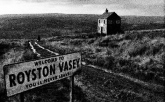 The League of Gentleman-Royston Vasey sign