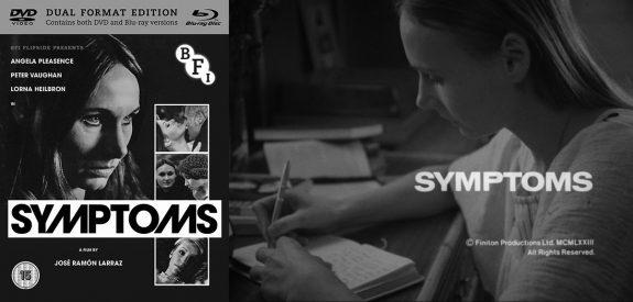 BFI-Symptoms-Flipside-1974-bluray and DVD cover and title image